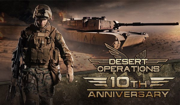 Preview: Desert Operations: Modernes Grafikgewand für einen Klassiker