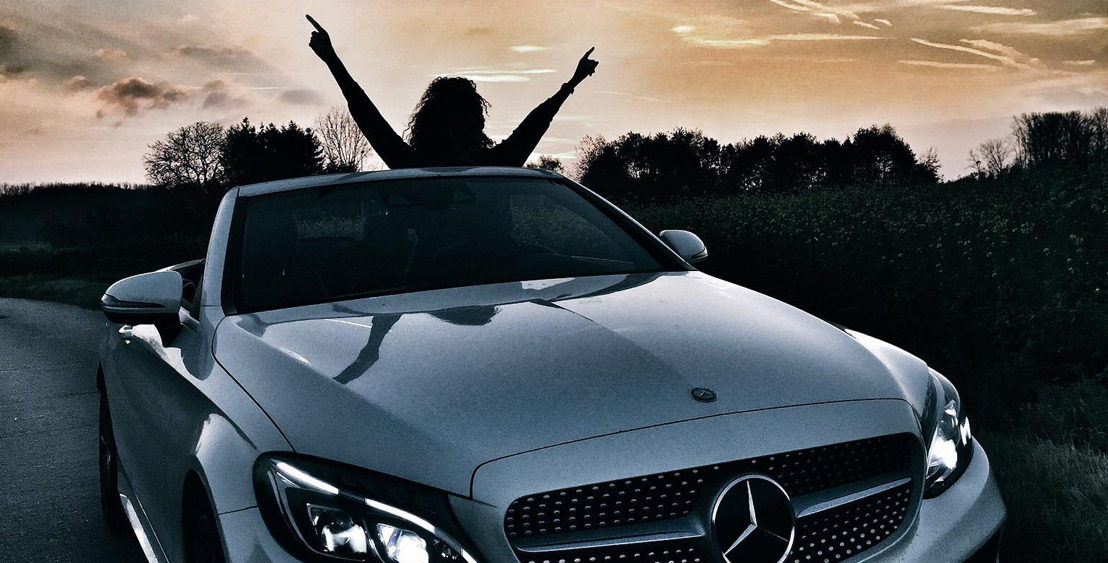 Once upon a time in a Mercedes...