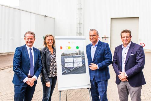 Zonne-installatie Luminus en Jiffy Packaging: groene energie voor een nog duurzamere productie
