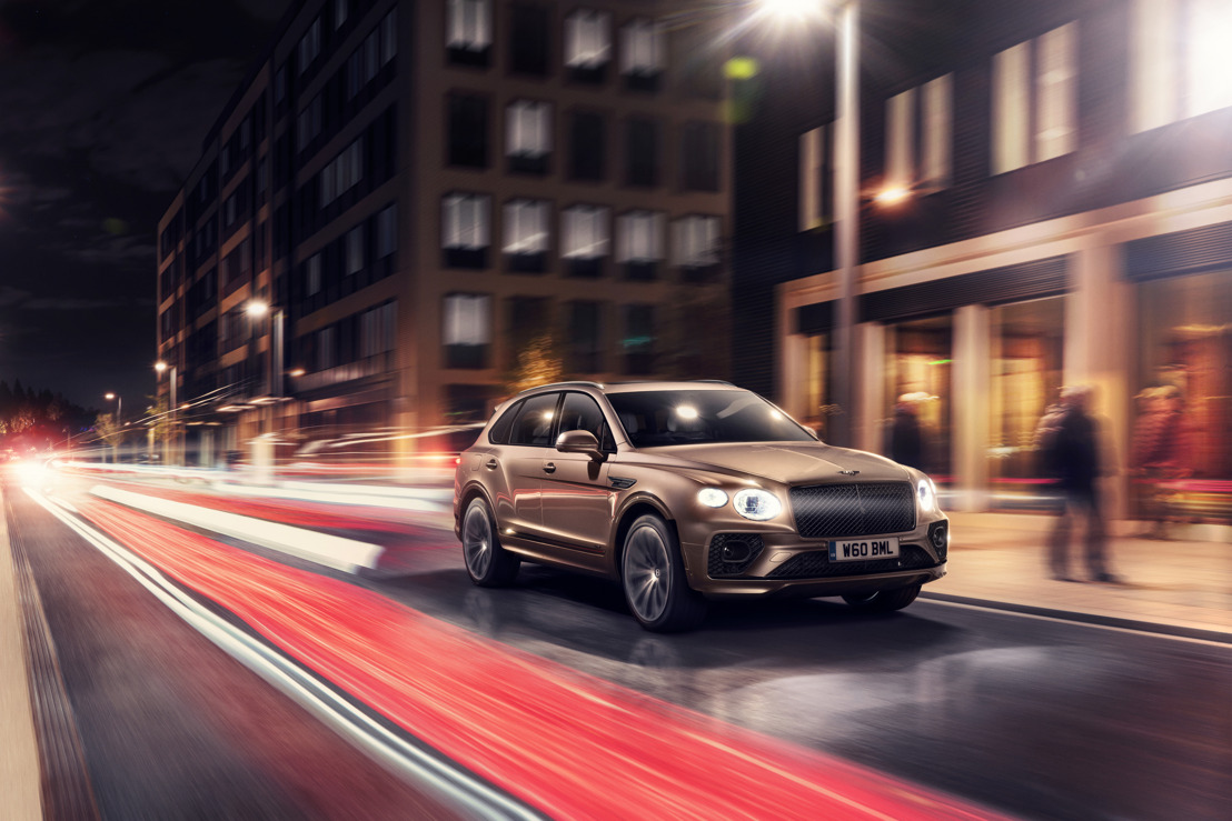 NEW BENTAYGA HYBRID LAUNCHES IN UK AND EUROPE