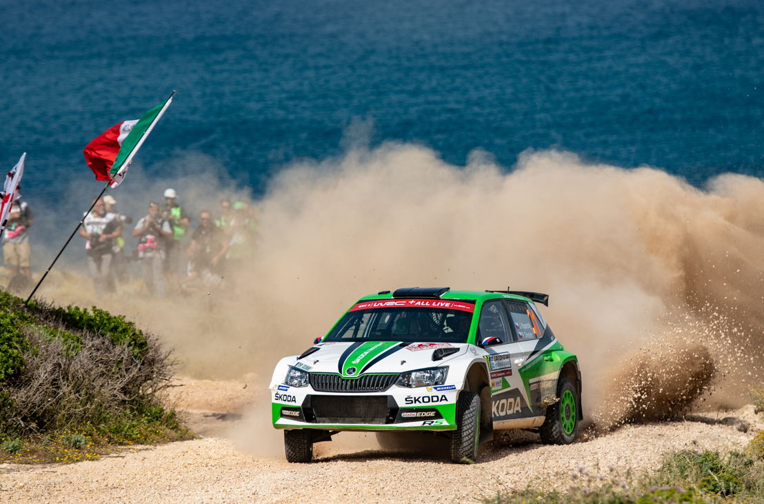 ŠKODA works crew Jan Kopecký/Pavel Dresler (ŠKODA<br/>FABIA R5) is the current leader of the WRC 2 category<br/>standings.