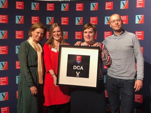Kempens bouwbedrijf DCA voor het eerst in lijst van Beste Belgische Werkgevers