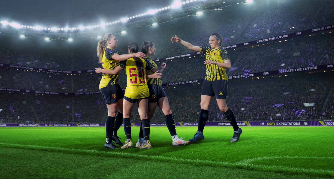 WOMEN'S FOOTBALL TO BE INCLUDED IN GLOBAL HIT GAME FOOTBALL MANAGER