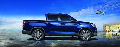 SSANGYONG Musso : The New Pick-Up