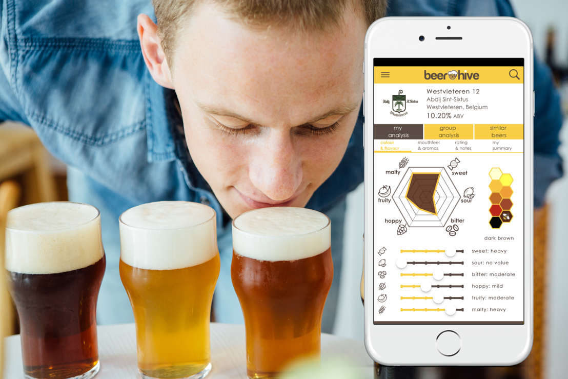 Leuvense start-up Beerhive lanceert digitale biersommelier