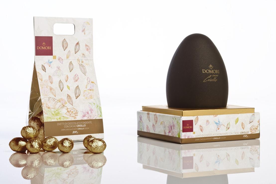 Domori, Uovo di Pasqua Criollo e ovetti Criollo