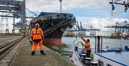 BRaiNS – Smart initiatives to promote more effective mobility in the port of Antwerp