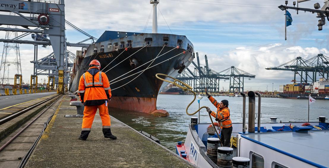 BRaiNS – Travailler intelligemment à une meilleure mobilité pour le port d'Anvers
