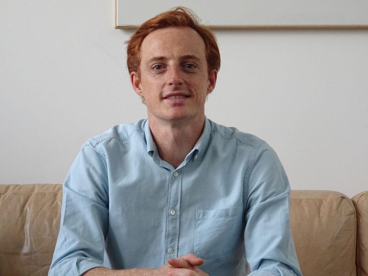 Stephane Coppens, coördinator Sandbox Vlaanderen