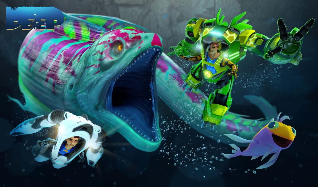 "Animated series ""The Deep""."