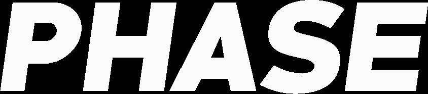 Phase official logo - White