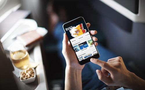 Cathay Pacific bietet Zugang zu über 7.000 digitalen Zeitungen und Zeitschriften über PressReader