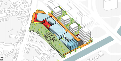 Anderlecht se dote d'un nouveau campus prestigieux pour l'enseignement néerlandophone