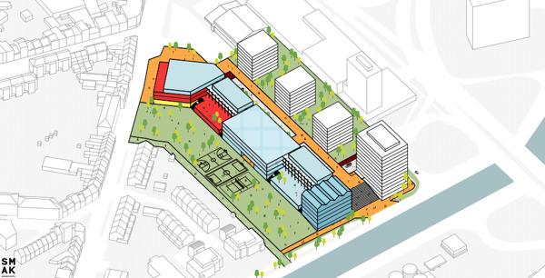 Preview: Anderlecht se dote d'un nouveau campus prestigieux pour l'enseignement néerlandophone