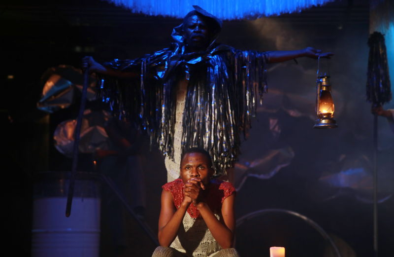 Holy Contract with Khayalethu Anthony and Monwabisi Sopitshi - credit Nardus Engelbrecht Cape Town Fringe 2016