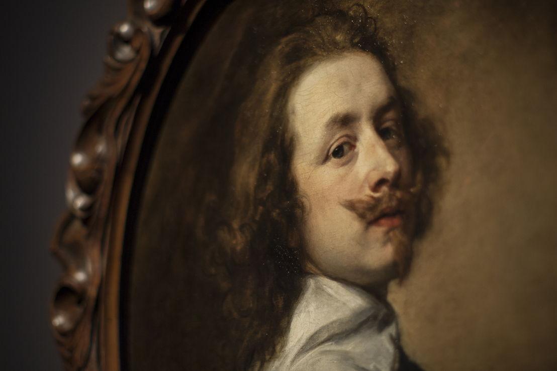 Anthony van Dijck, zelfportret, (c) Ans Brys