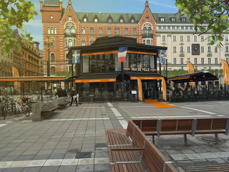 Vau de Ville in Stockholm; waar Expekt een Euro 2016 feestje begint