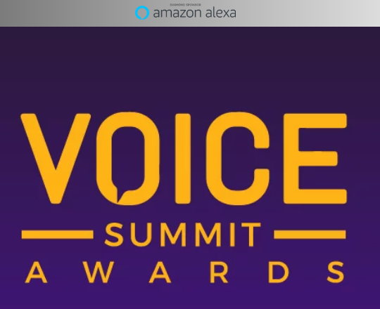 Inaugural 2019 VOICE Summit Awards Submission Deadline Extended to June 30, 2019