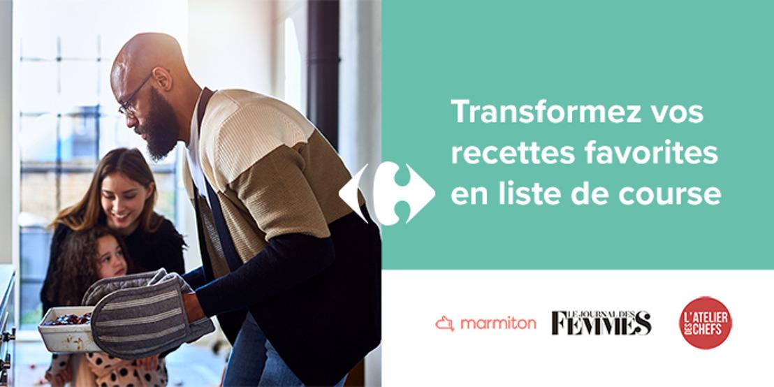 Première en Belgique : Carrefour s'associe à FlyMenu et se lance dans les shoppable recipes