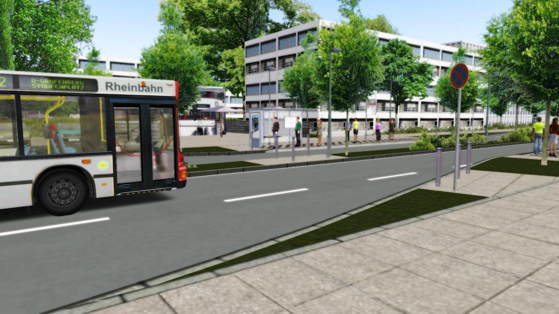 OMSI 2: Erweiterung mit der Düsseldorfer Metrobuslinie M2