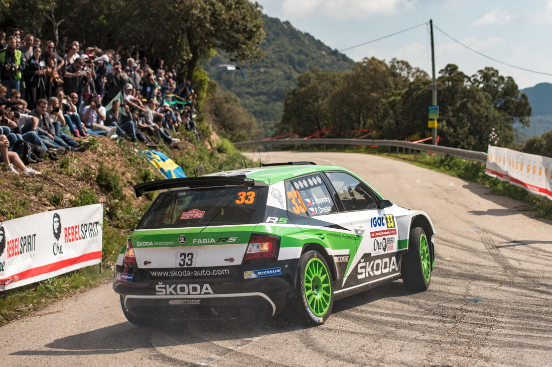 Jan Kopecký and co-driver Pavel Dresler (CZE/CZE), driving a ŠKODA FABIA R5, want to repeat their victory from 2015 at ADAC Rallye Deutschland