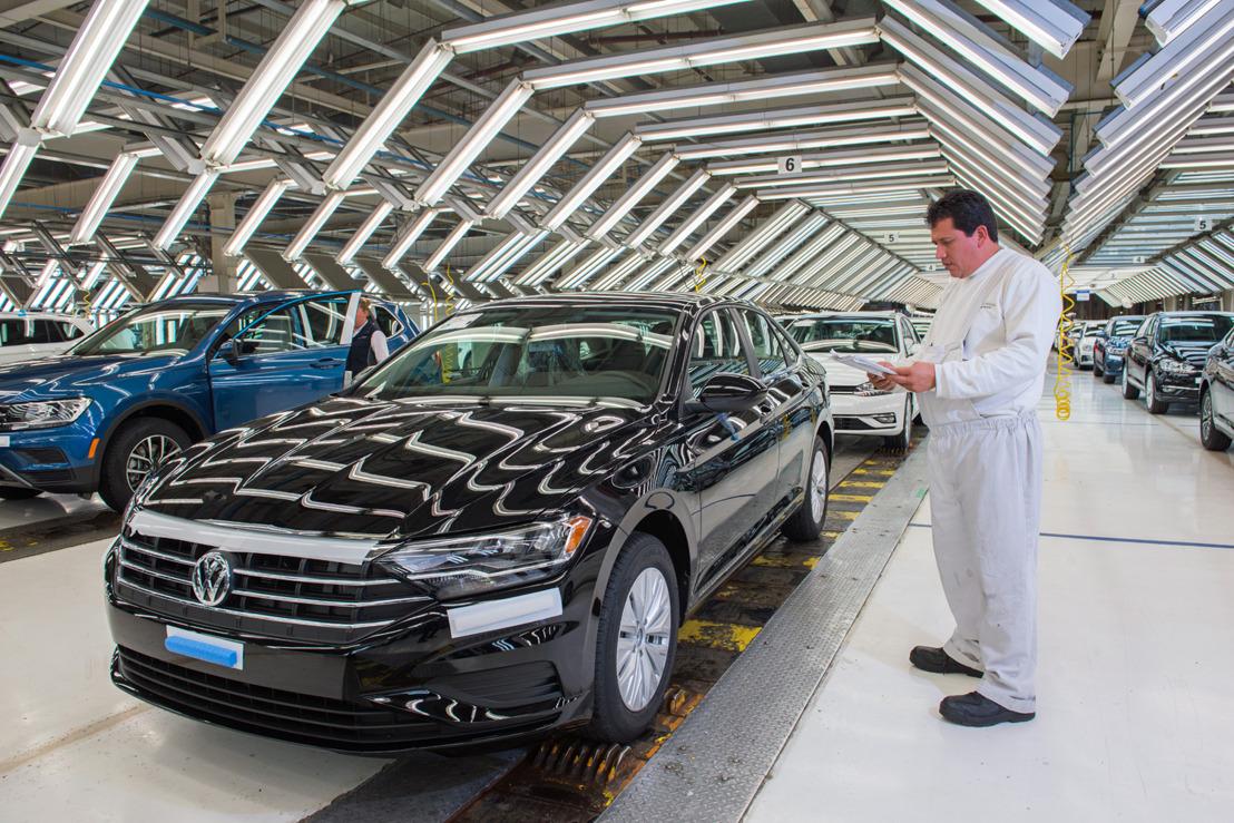 Volkswagen de México incrementa su producción 25% en febrero