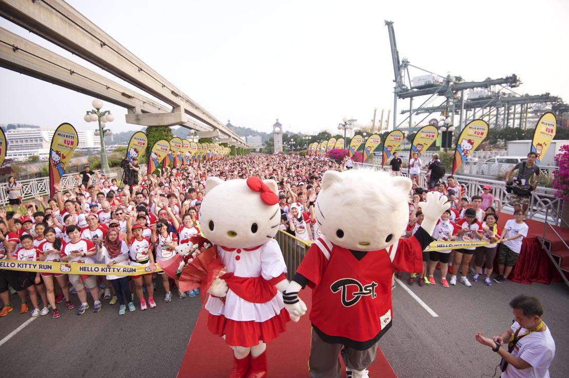 Corriendo alrededor del mundo con Hello Kitty