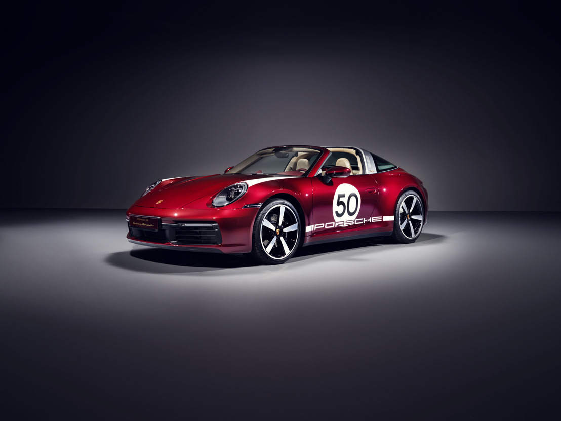Porsche présente son premier modèle Heritage Design