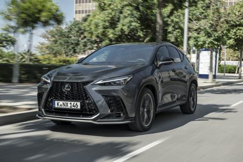 Découvrez le tout nouveau Lexus NX