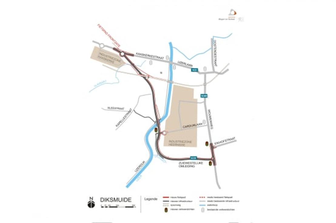 Voka West-Vlaanderen tevreden met goedkeuring omgevingsvergunning ringweg Diksmuide
