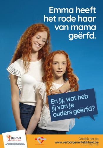 Avec Belchol et la Ligue Cardiologique Belge, Voice incite tous les Belges à faire dépister leur hérédité cachée