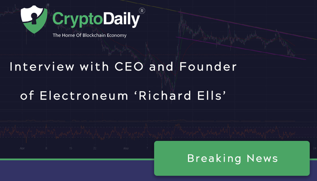 CRYPTO DAILY|Crypto Wars And Asteroid Mining: CEO Of Electroneum, Richard Ells, Speaks His Mind