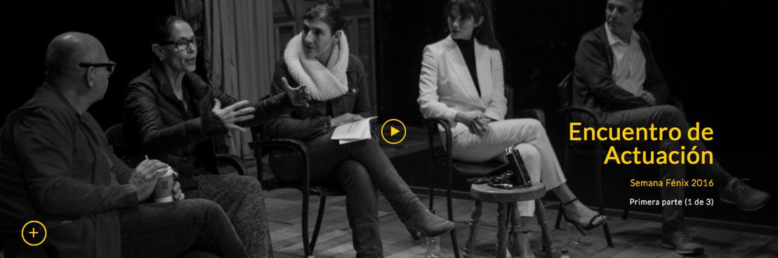 Cinema23, Premios Fénix y El País presentan la 2ª parte de conversaciones entre actores y directores de Iberoamérica