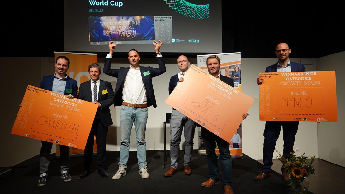 Bingli wint Belgische eindronde en gaat naar het WK Ondernemen in Saoedi-Arabië