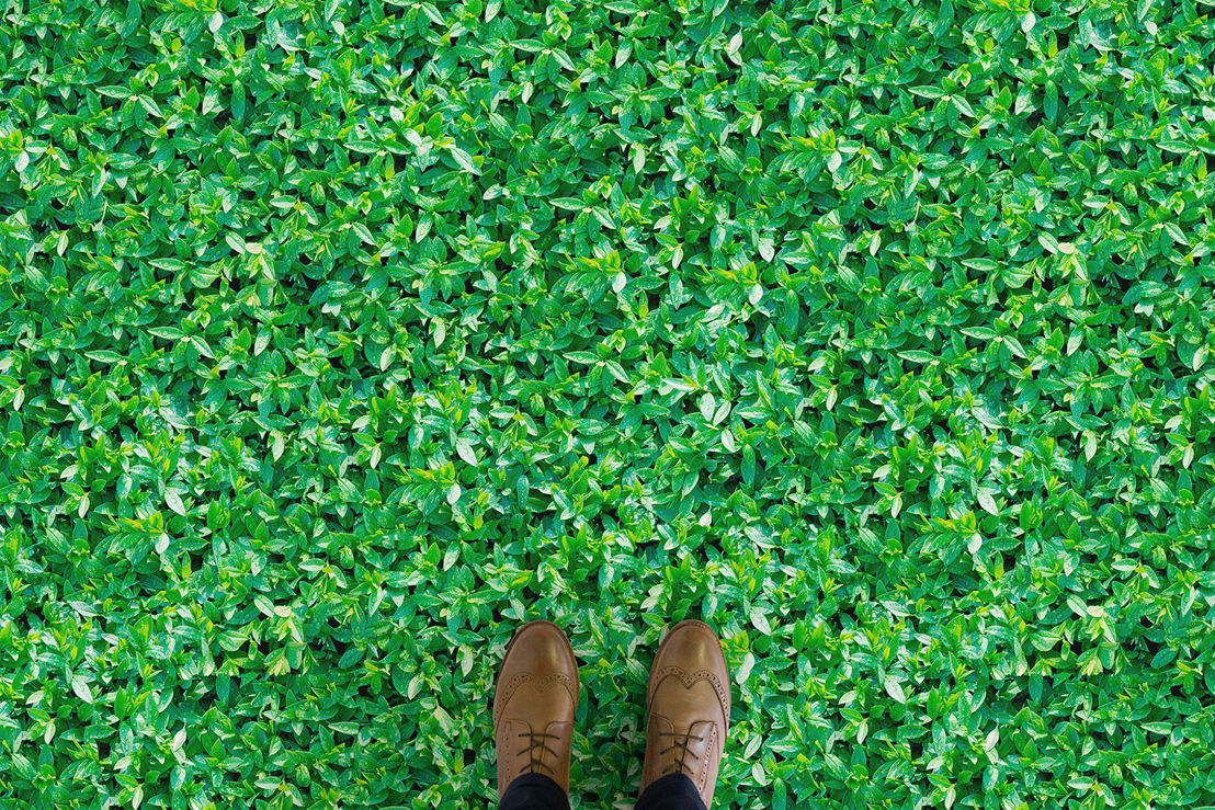 Verdure | Leaf Foliage Vinyl Flooring