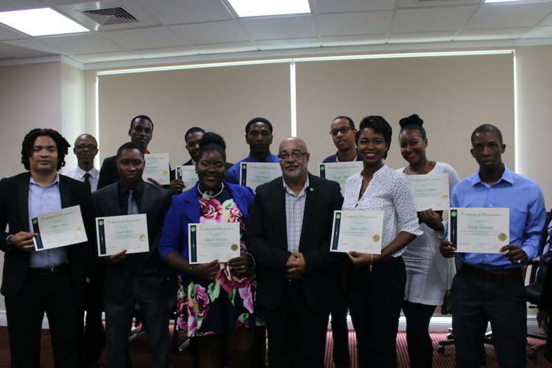 30 Under 30 virtual award ceremony from Saint-Lucia.