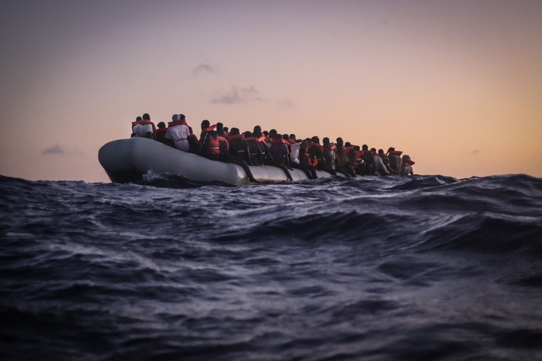 MSF: B-ROLL from Sea Watch 4 search and rescue operations in the central Mediterranean.