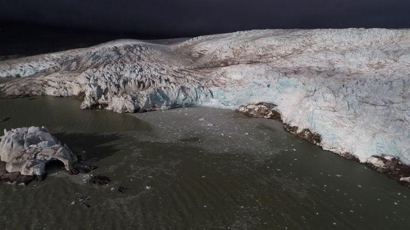 Glacier, Norwegian Arctic