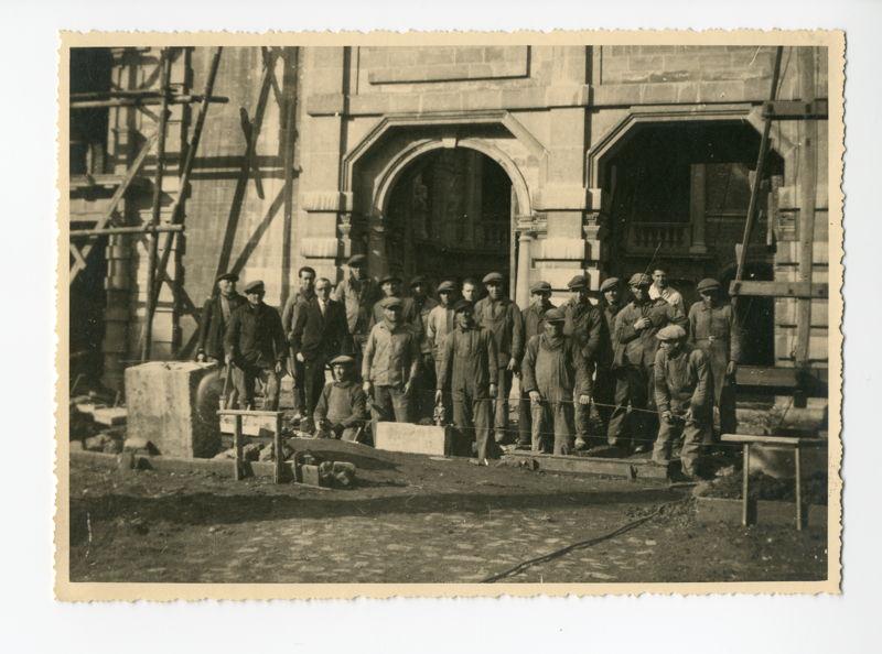 Het Rubenshuis tijdens de restauratie van het museum