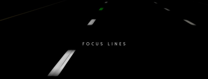 Focus Lines, les lignes colorées de Volvo Cars et FamousGrey pour lutter contre l'hypnose routière