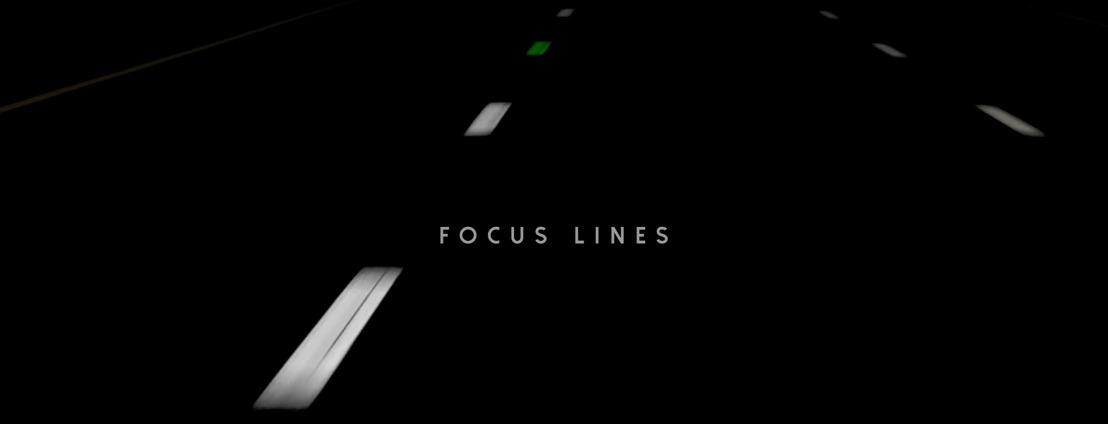 Focus Lines, de gekleurde lijnen van Volvo Cars BeLux en FamousGrey tegen highway hypnosis