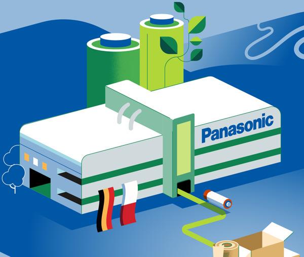Preview: Panasonic Energy è sinonimo di produzione in stabilimenti green a livello locale, confezionamento e consegna smart, operatività secondo principi ecologici