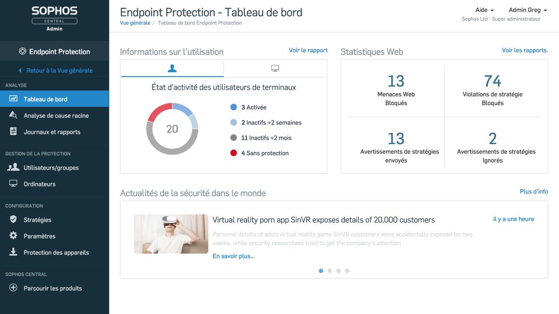 Sophos introduit la protection prédictive dans Intercept X avec le Deep Learning avancé