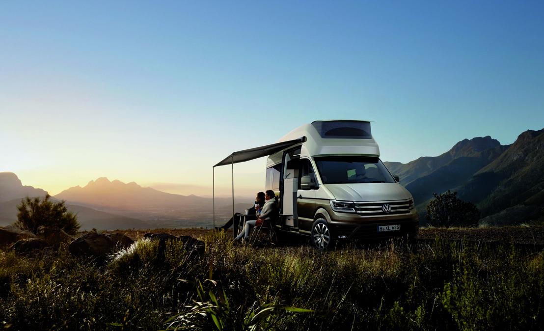 California XXL concept, kampeerwagen op basis van de Crafter
