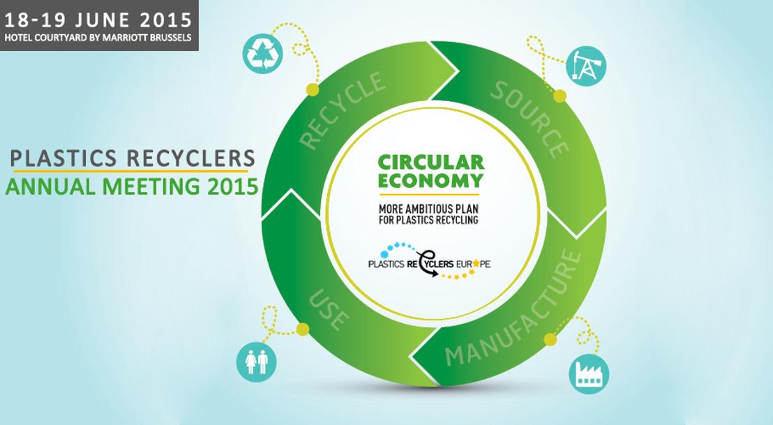 New speaker confirmed - Plastics Recyclers Europe Annual Meeting 18 & 19 June 2015