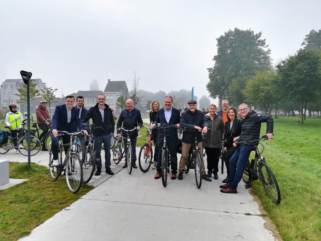 Feestelijke opening koppelingsgebieden rond het Kluizendok in Gent en Evergem
