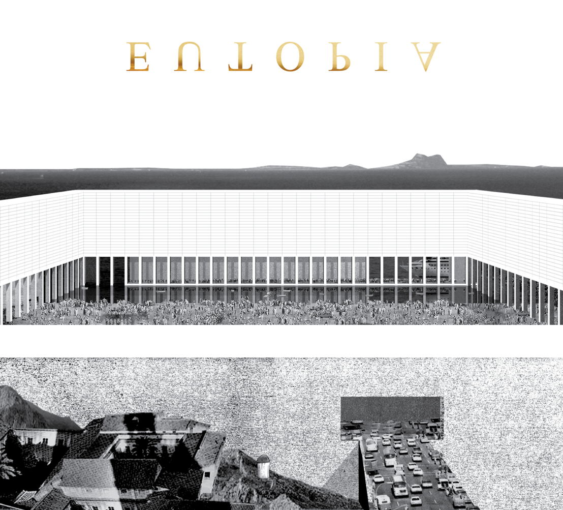 EUtopia, een bijzondere architectuurtentoonstelling in M - campagnebeeld