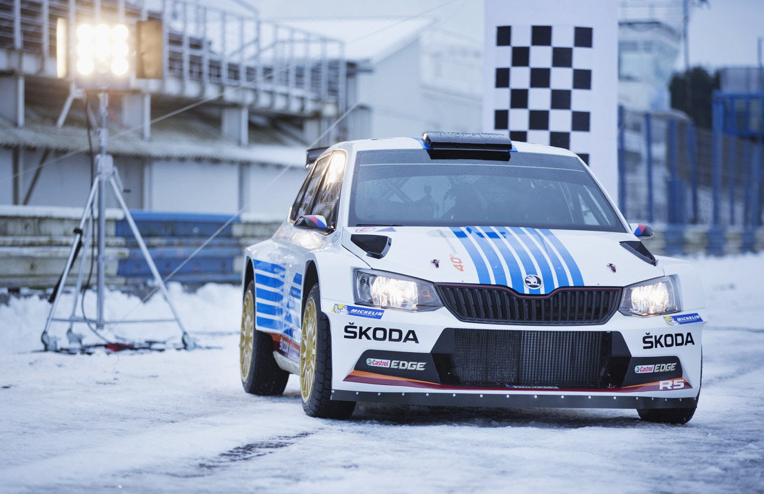 ŠKODA marks 40th anniversary of legendary win at the Rally Monte Carlo