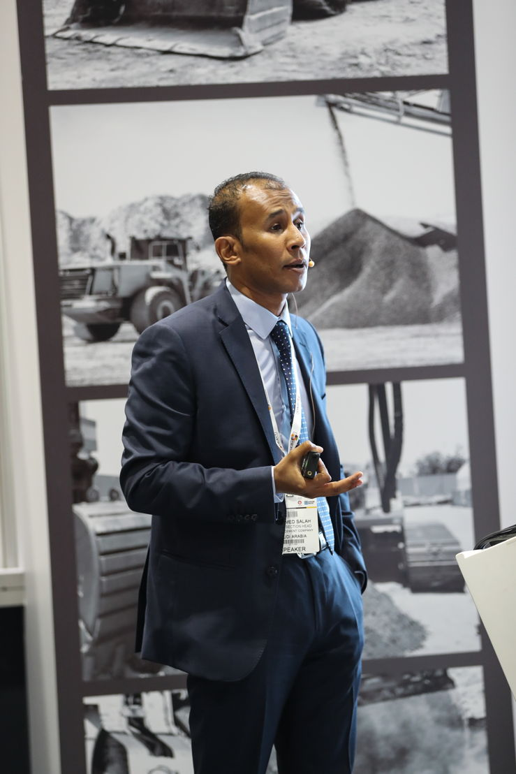 Mohamed Salah, Mining Section Head at the Saudi based Najran Cement Company is one of the industry experts sharing their knowledge at the 40+ Big 5 Heavy workshops