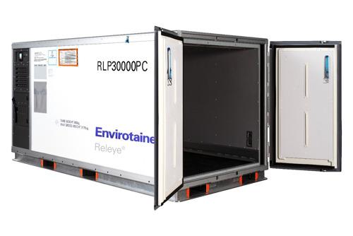 國泰貨運成為首家提供溫瑞通Envirotainer Releye RLP 集裝箱的亞洲航空公司